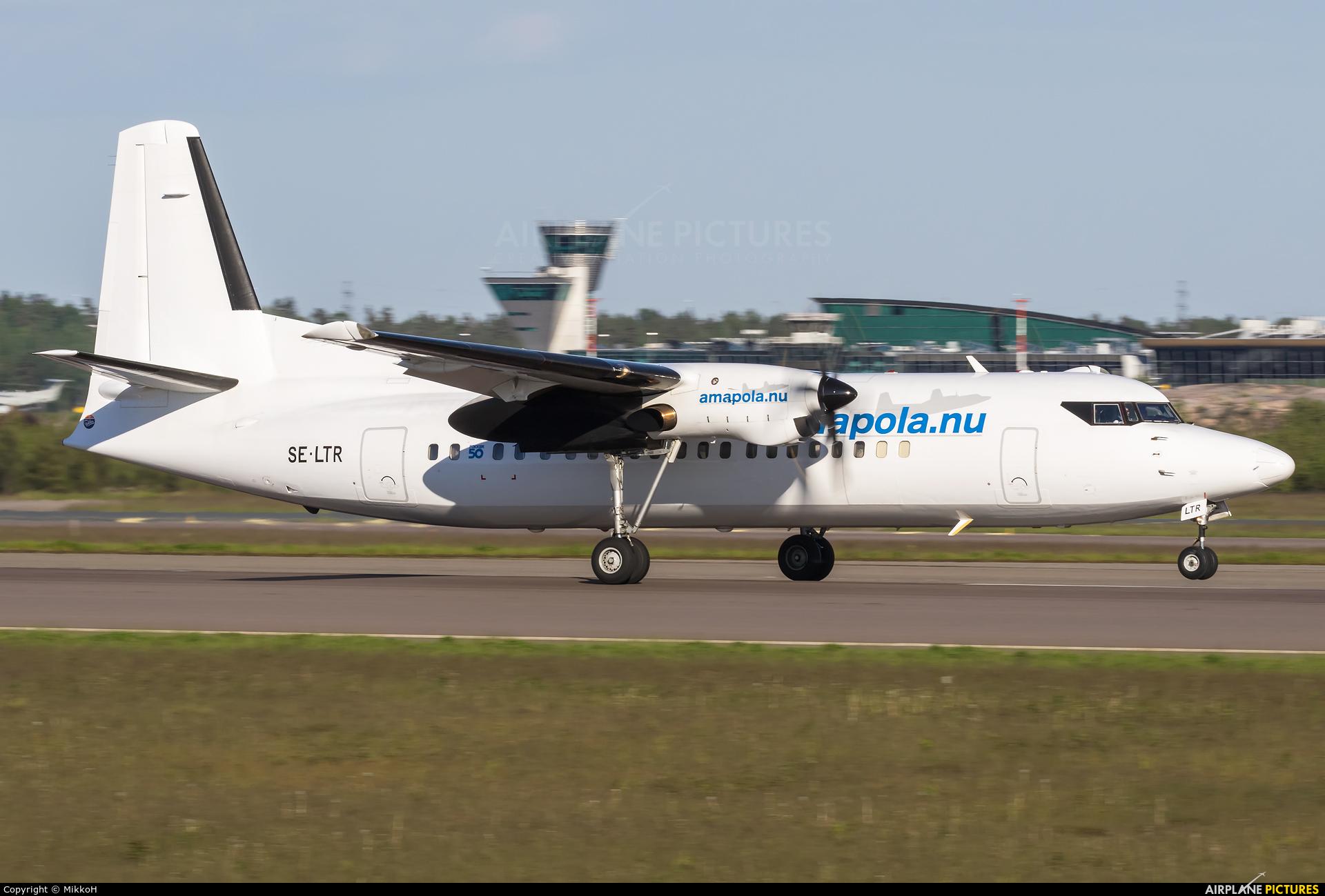 AmaPola Flyg SE-LTR aircraft at Helsinki - Vantaa