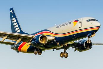 G-NPTA - West Atlantic Boeing 737-800
