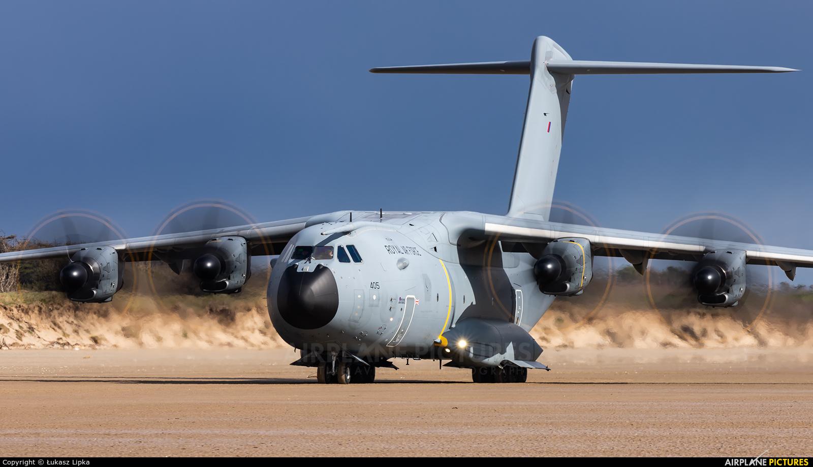Royal Air Force ZM405 aircraft at Off Airport - Wales