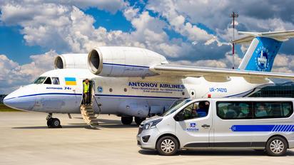 UR-74010 - Antonov Airlines /  Design Bureau Antonov An-74