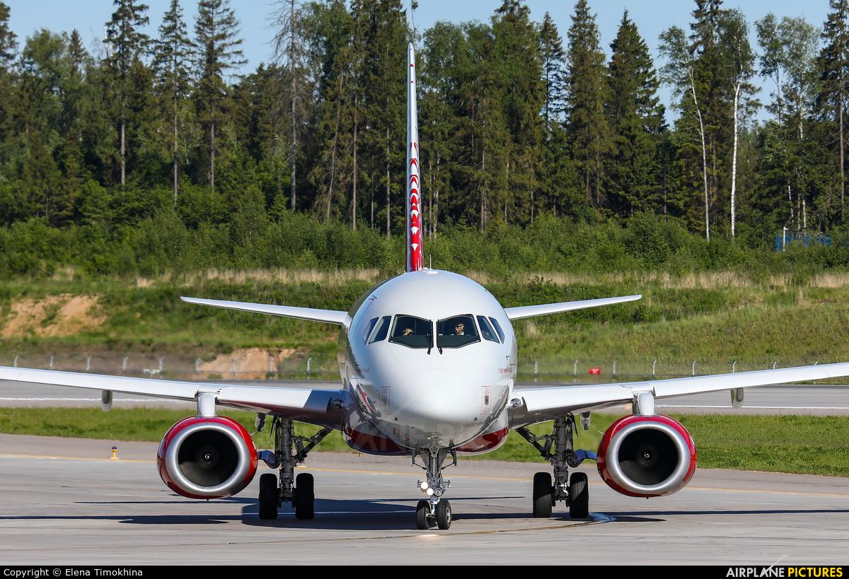 Rossiya RA-89045 aircraft at Moscow - Sheremetyevo
