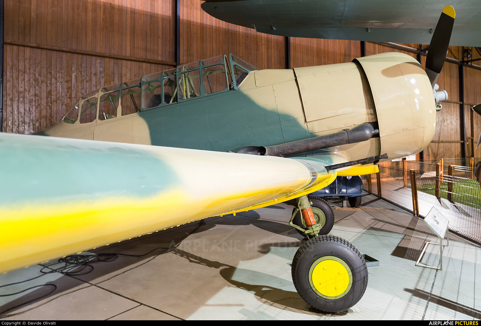Royal Air Force FT422 aircraft at Prague - Kbely, Letecké muzeum