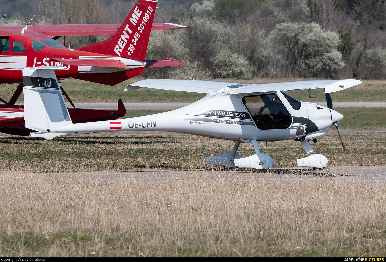 Private OE-CFN aircraft at Verona - Boscomantico