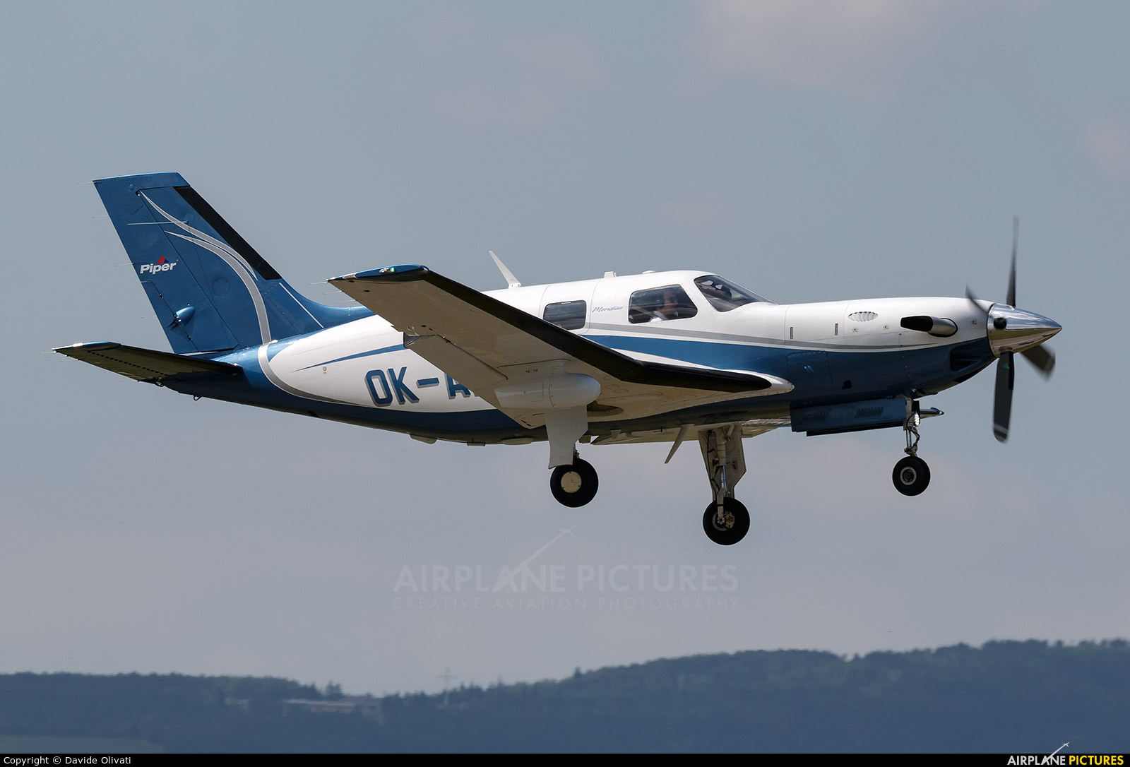 Private OK-ALT aircraft at Verona - Boscomantico