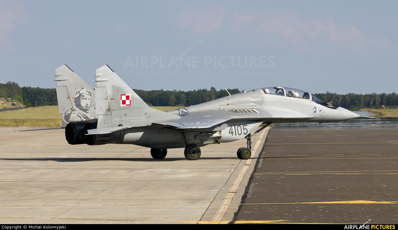Poland - Air Force 4105 aircraft at Szczecin - Goleniów