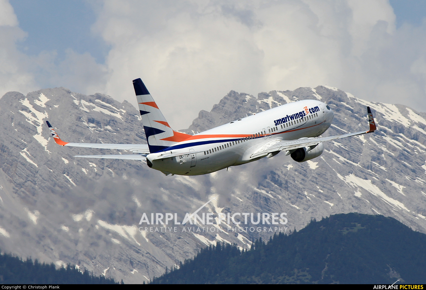 SmartWings OK-TSH aircraft at Innsbruck