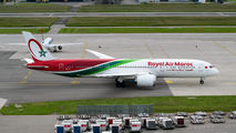 Royal Air Maroc B789 visited Zurich title=