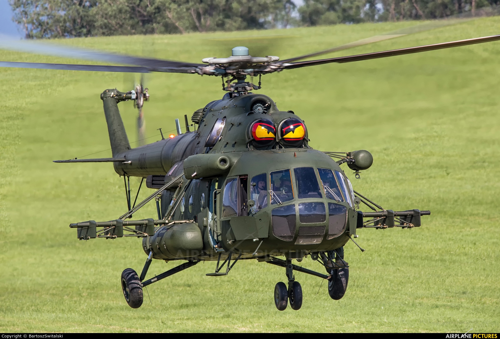 Poland - Army 6108 aircraft at Off Airport - Poland