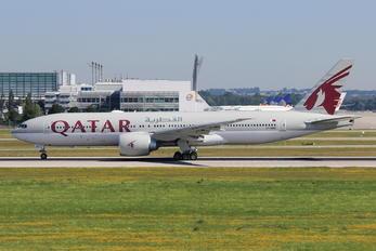 A7-BBD - Qatar Airways Boeing 777-200LR