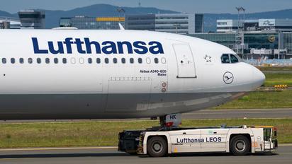 D-AIHK - Lufthansa Airbus A340-600