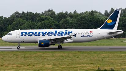 TS-INQ - Nouvelair Airbus A320