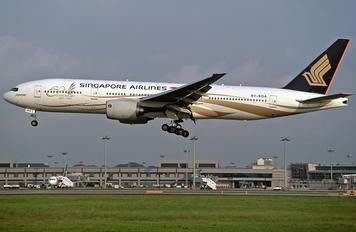 9V-SQA - Singapore Airlines Boeing 777-200ER