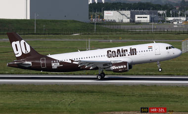 F-WWBC - Go Air Airbus A320