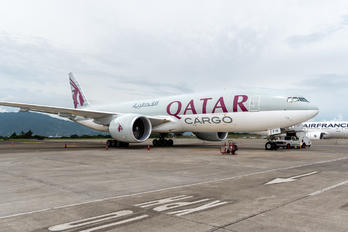 A7-BFW - Qatar Airways Cargo Boeing 777F