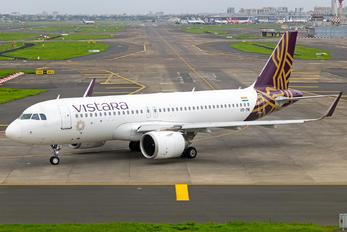VT-TNI - Vistara Airbus A320 NEO