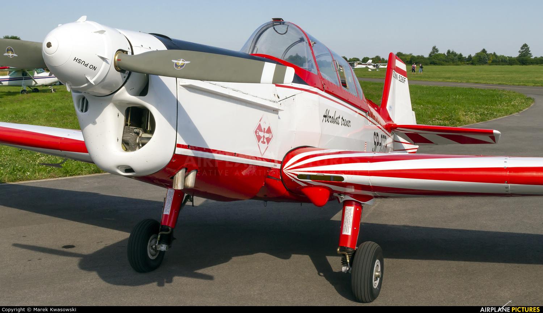 Aeroklub Ziemi Mazowieckiej SP-CTB aircraft at Piotrków Trybunalski