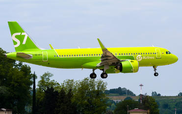 VQ-BTO - S7 Airlines Airbus A320 NEO