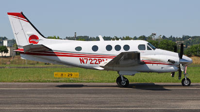 N722PM - Private Beechcraft 90 King Air