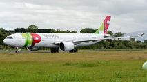 TAP Portugal A330neo visited Azores Ponta Delgada title=