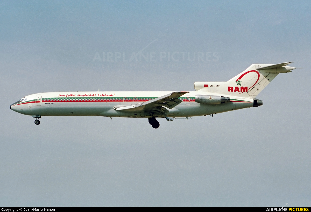Royal Air Maroc CN-RMP aircraft at Brussels - Zaventem