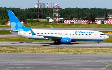 VP-BQM - Pobeda Boeing 737-800