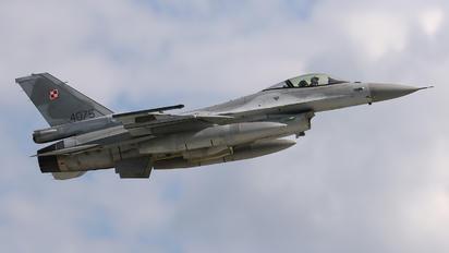 4075 - Poland - Air Force Lockheed Martin F-16C block 52+ Jastrząb
