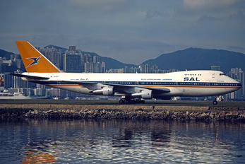 ZS-SAP - South African Airways Boeing 747-200