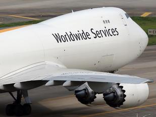 N614UP - UPS - United Parcel Service Boeing 747-8F