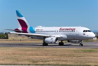 D-AGWK - Eurowings Airbus A319