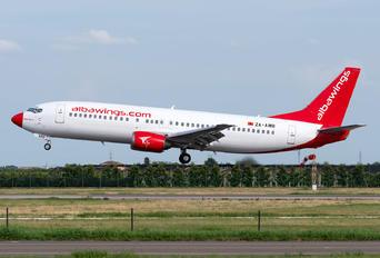 ZA-AWB - Albawings Boeing 737-400