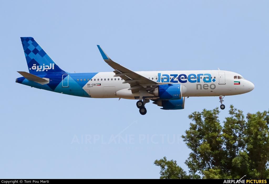 Jazeera Airways 9H-CBC aircraft at Palma de Mallorca