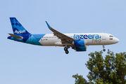 Jazeera Airbus A320neo visited Palma de Mallorca title=