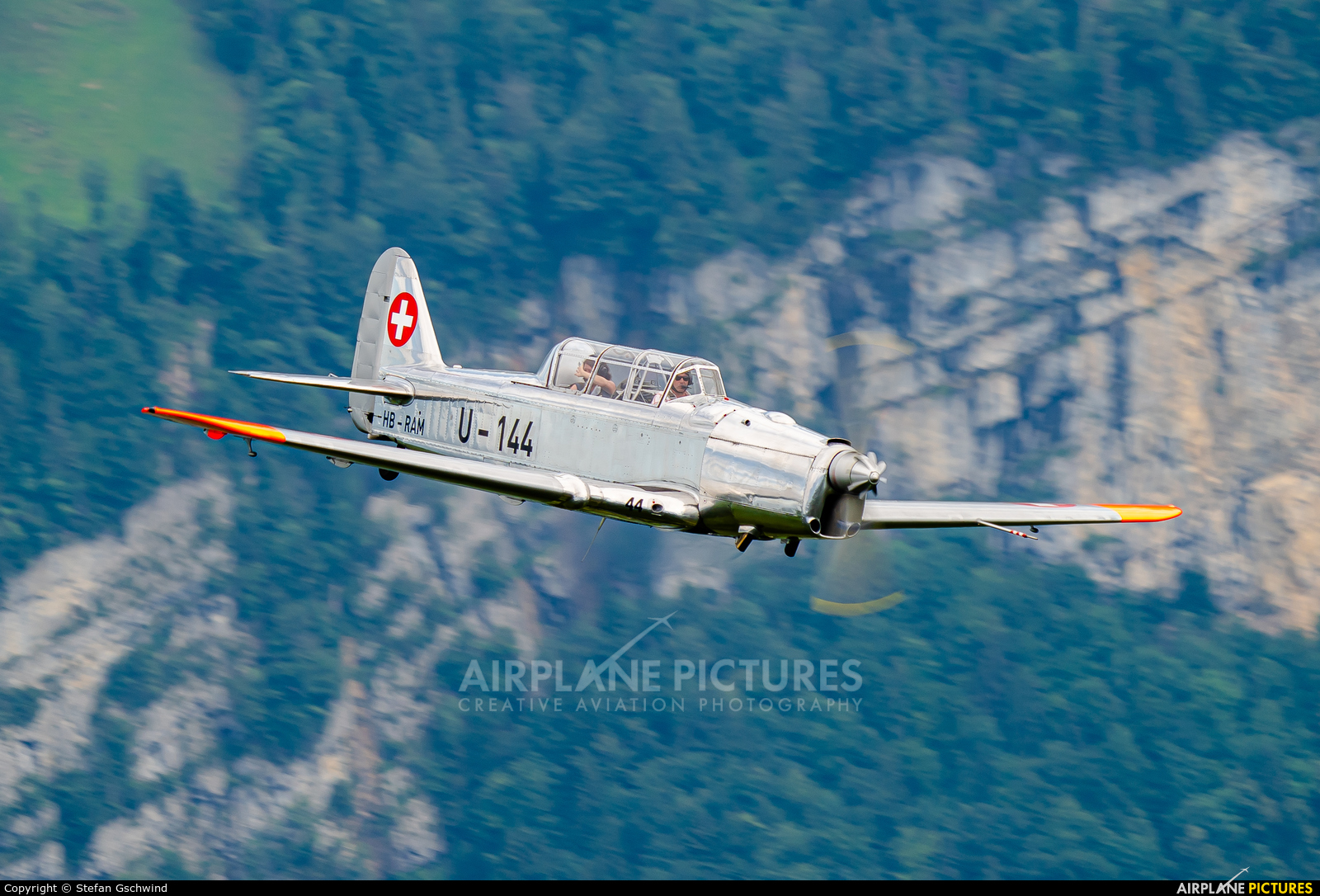 Private HB-RAM aircraft at Off Airport - Swiss Alps