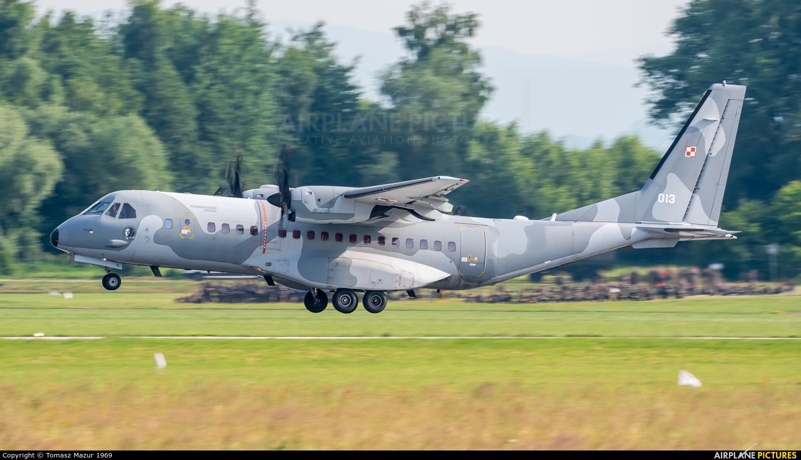 Poland - Air Force 013 aircraft at Kraków - John Paul II Intl