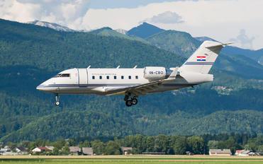 9A-CRO - Croatia - Government Canadair CL-600 Challenger 604