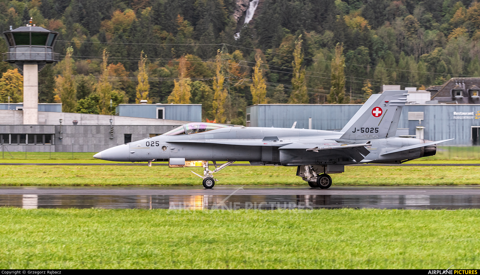 Switzerland - Air Force J-5025 aircraft at Meiringen