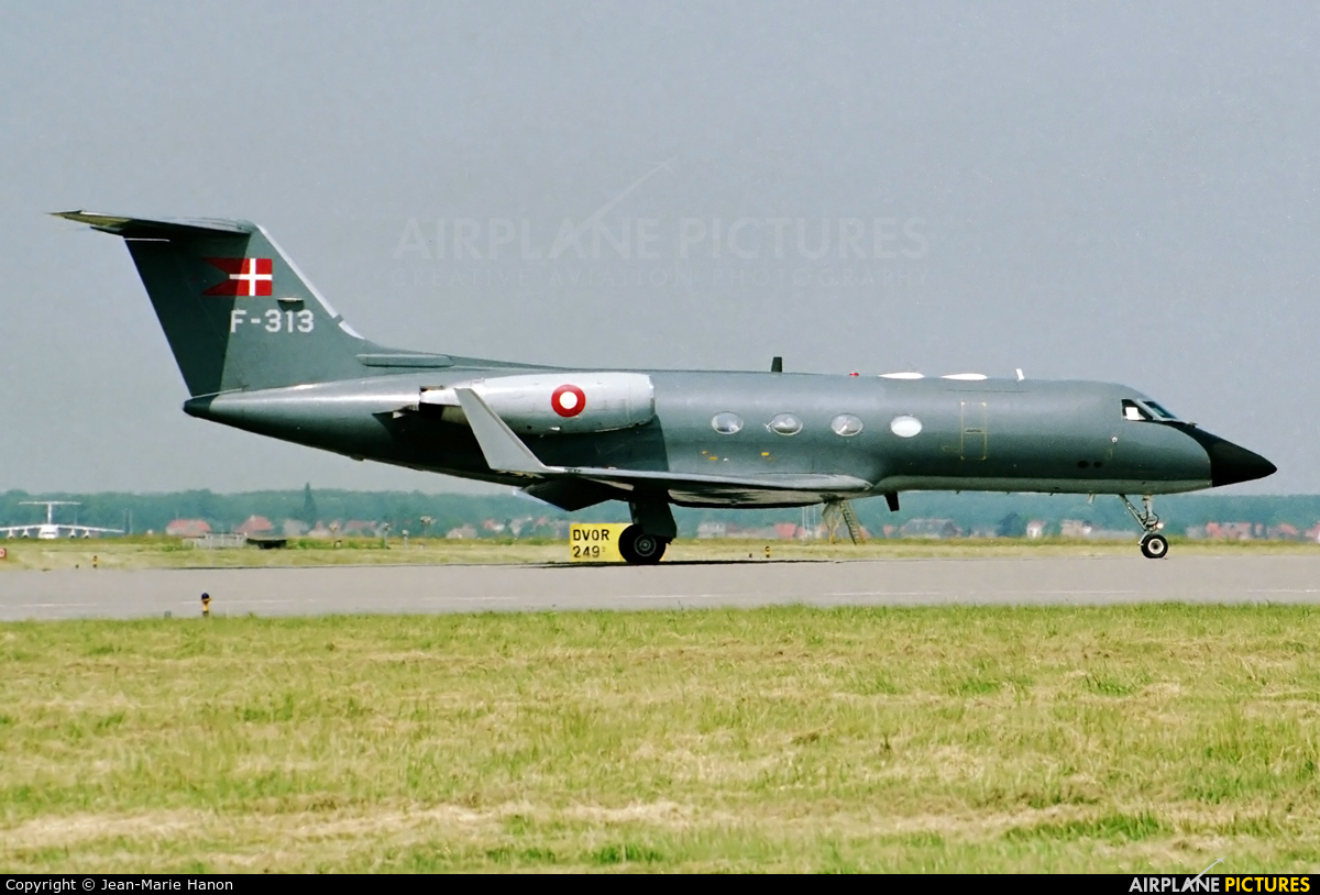 Denmark - Air Force F-313 aircraft at Brussels - Zaventem