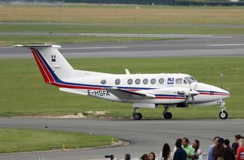 F-HSFA - France - DGAC Beechcraft 200 King Air