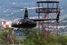 Private Robinson R66 OO-GLN at Verona - Boscomantico airport