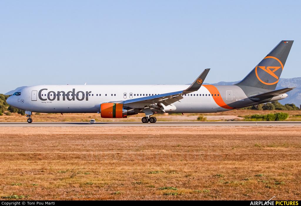 Condor D-ABUH aircraft at Palma de Mallorca