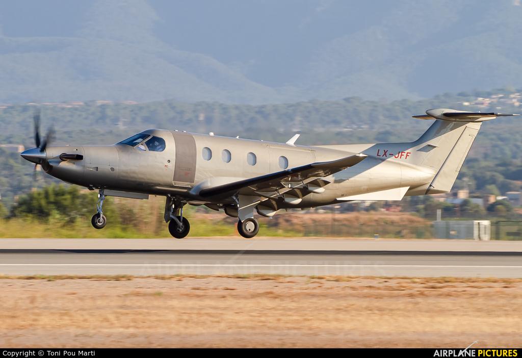 Jetfly Aviation LX-JFF aircraft at Palma de Mallorca