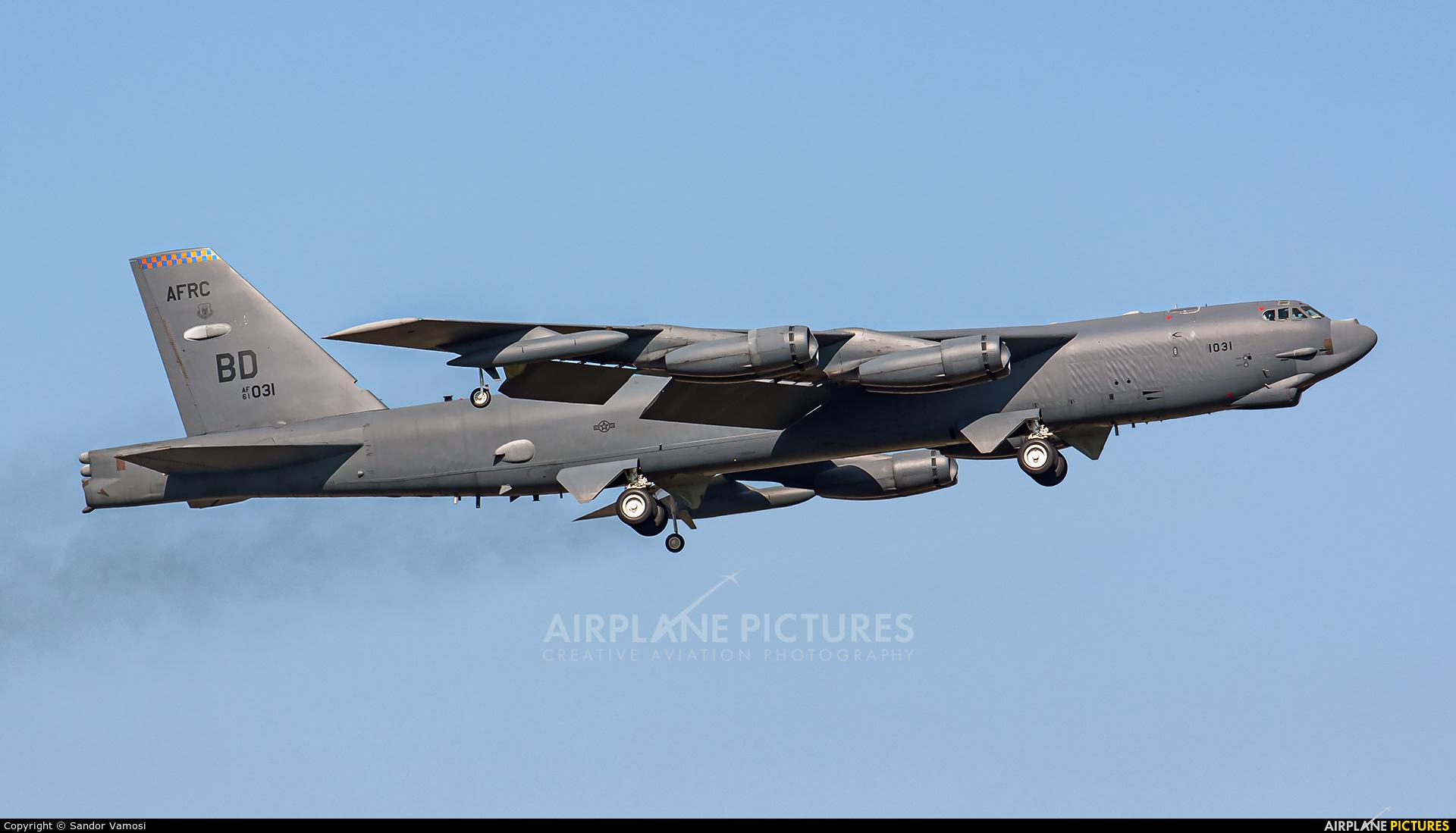 USA - Air Force AFRC 61-0031 aircraft at Ostrava Mošnov