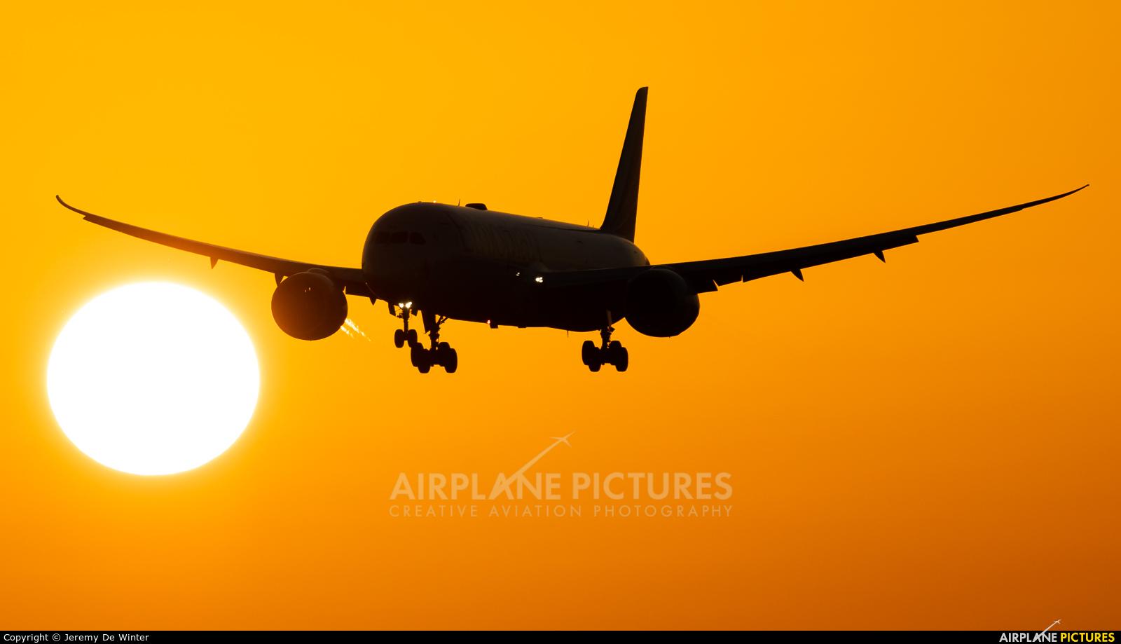 Ethiopian Airlines ET-AYC aircraft at Brussels - Zaventem