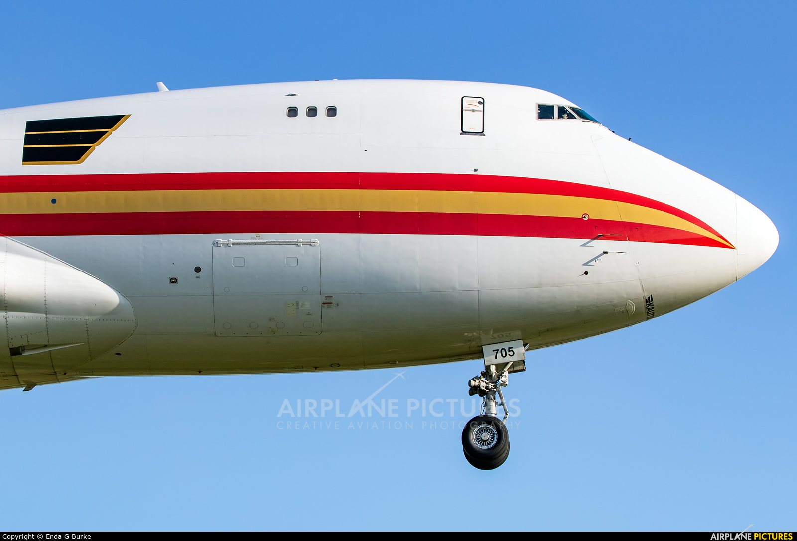 Kalitta Air N705CK aircraft at East Midlands