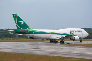YI-AQQ - Iraqi Airways Boeing 747-400