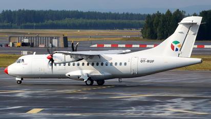 OY-RUF - Danish Air Transport ATR 42 (all models)