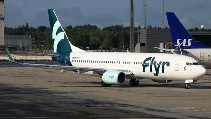 LN-FGA - Flyr Boeing 737-800