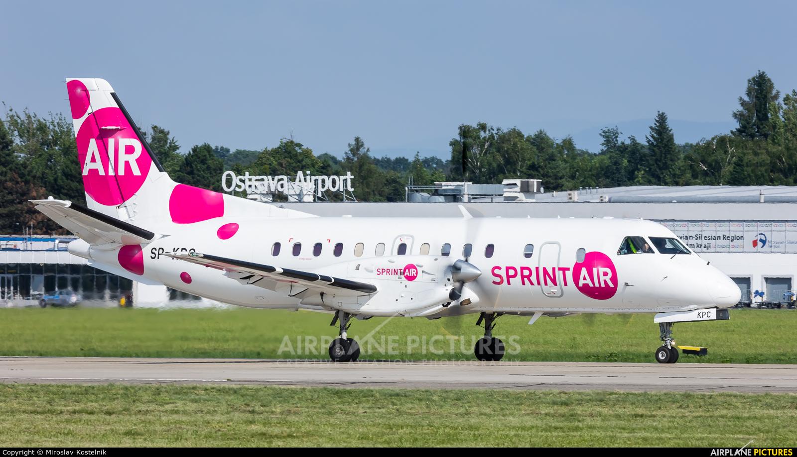 Sprint Air SP-KPC aircraft at Ostrava Mošnov