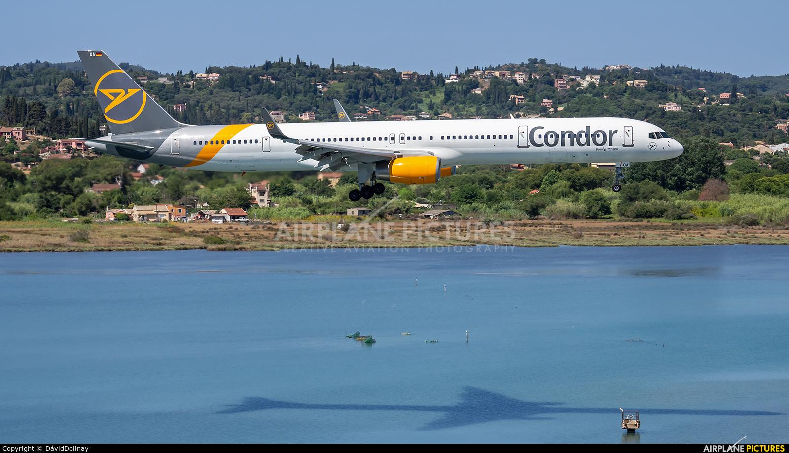 Condor D-ABOA aircraft at Corfu - Ioannis Kapodistrias