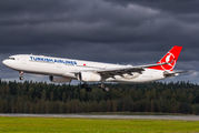 TC-LOG - Turkish Airlines Airbus A330-300 aircraft